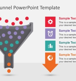 animated funnel diagram for powerpoint data pool processing ppt  [ 1280 x 720 Pixel ]