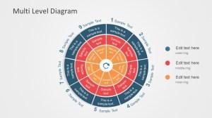 Editable Multilevel Phases PowerPoint Diagram  SlideModel