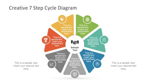 small resolution of creative 7 step cycle diagram slidemodel water cycle diagram step by step creative 7 step cycle