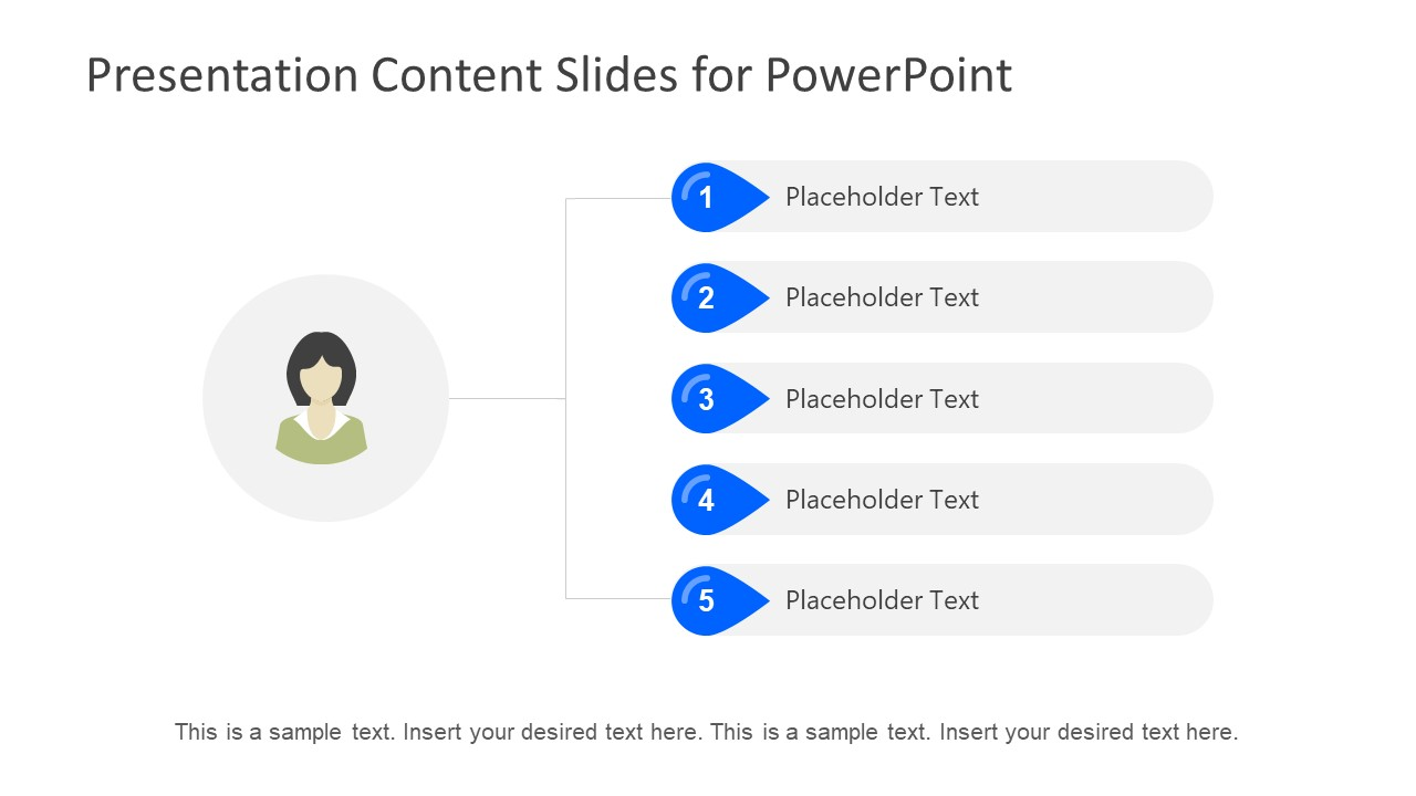 powerpoint table of contents template