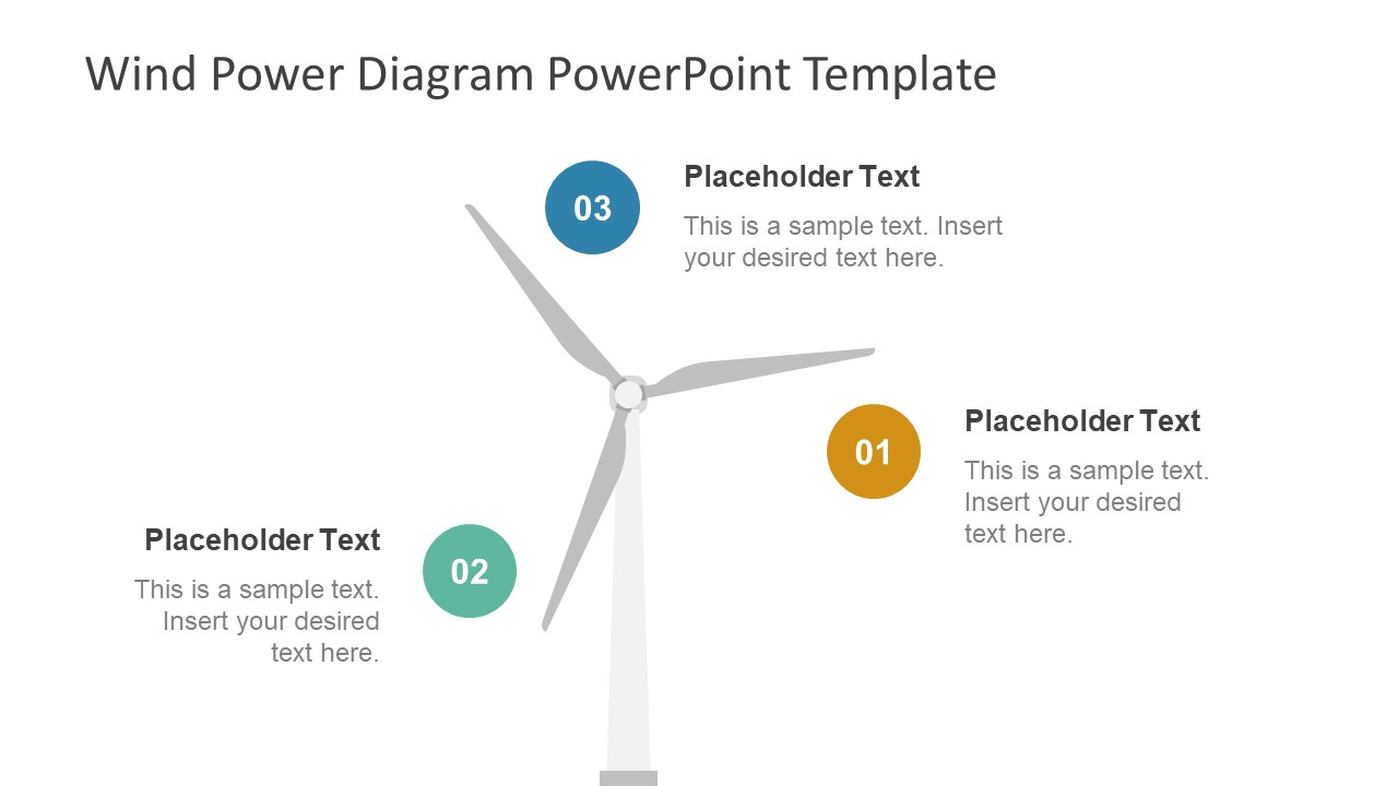 hight resolution of  energy presentation diagram for wind power