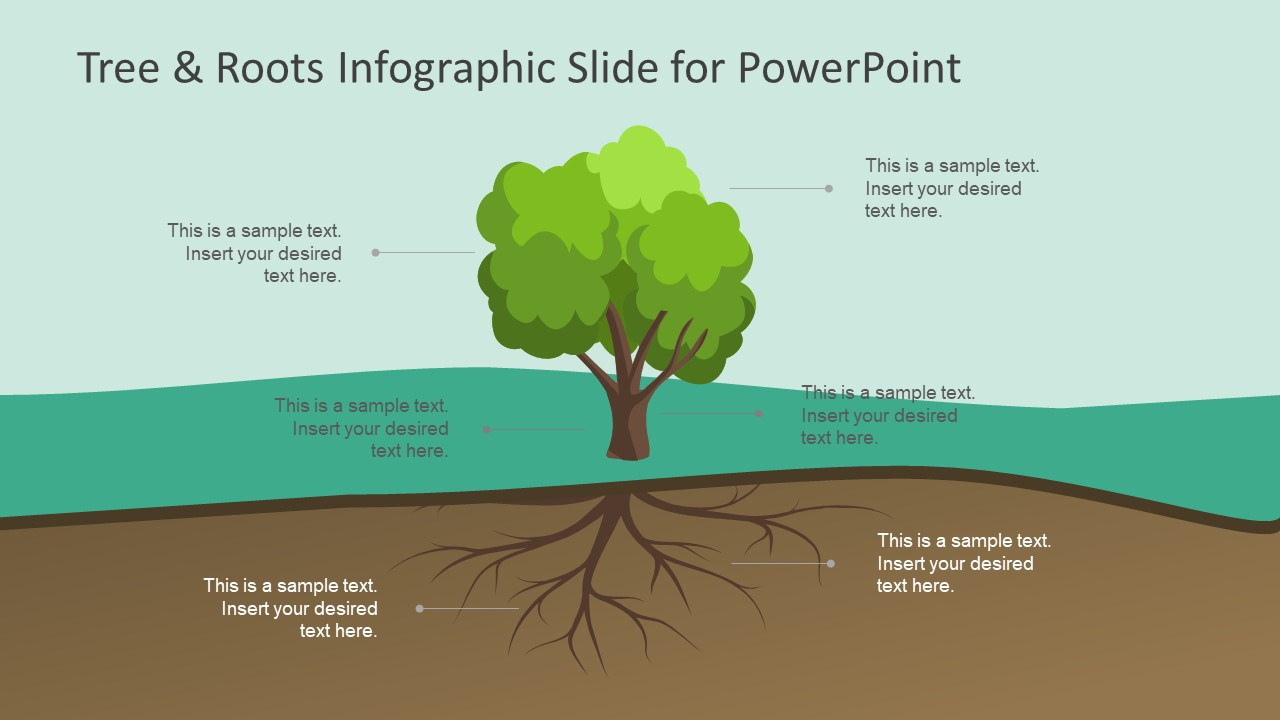 hight resolution of tree roots infographic slide for powerpoint slidemodel tree diagram root cause analysis infographic powerpoint label