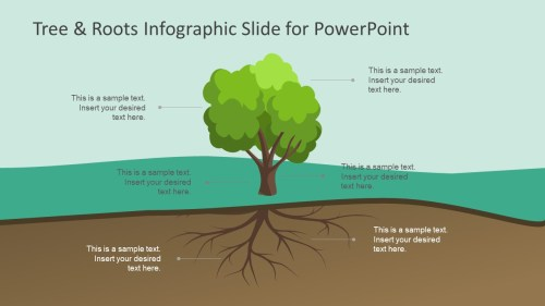 small resolution of tree roots infographic slide for powerpoint slidemodel tree diagram root cause analysis infographic powerpoint label