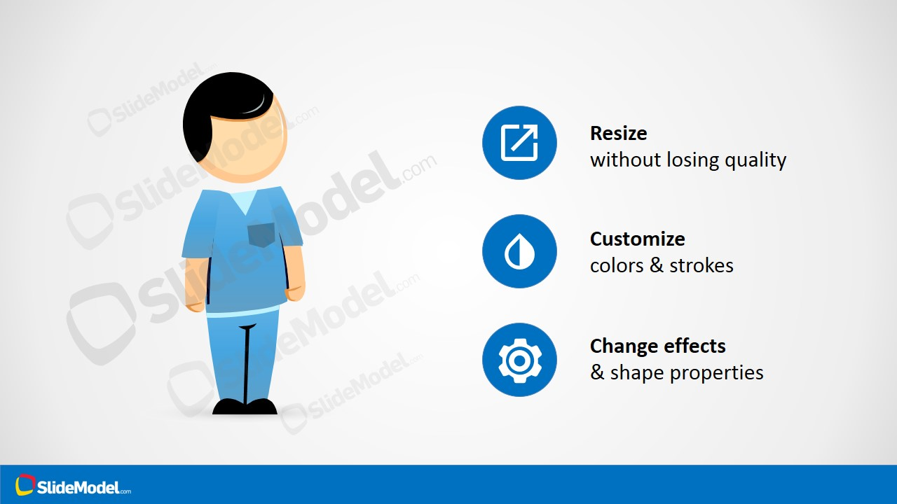 hight resolution of male nurse clipart
