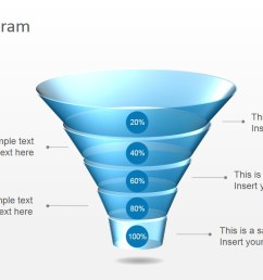 download free 5 level funnel diagram for powerpoint [ 1280 x 720 Pixel ]