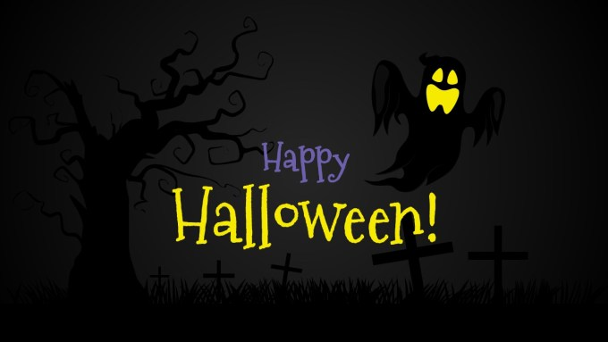 Free Scary Halloween Powerpoint Template Frameimage