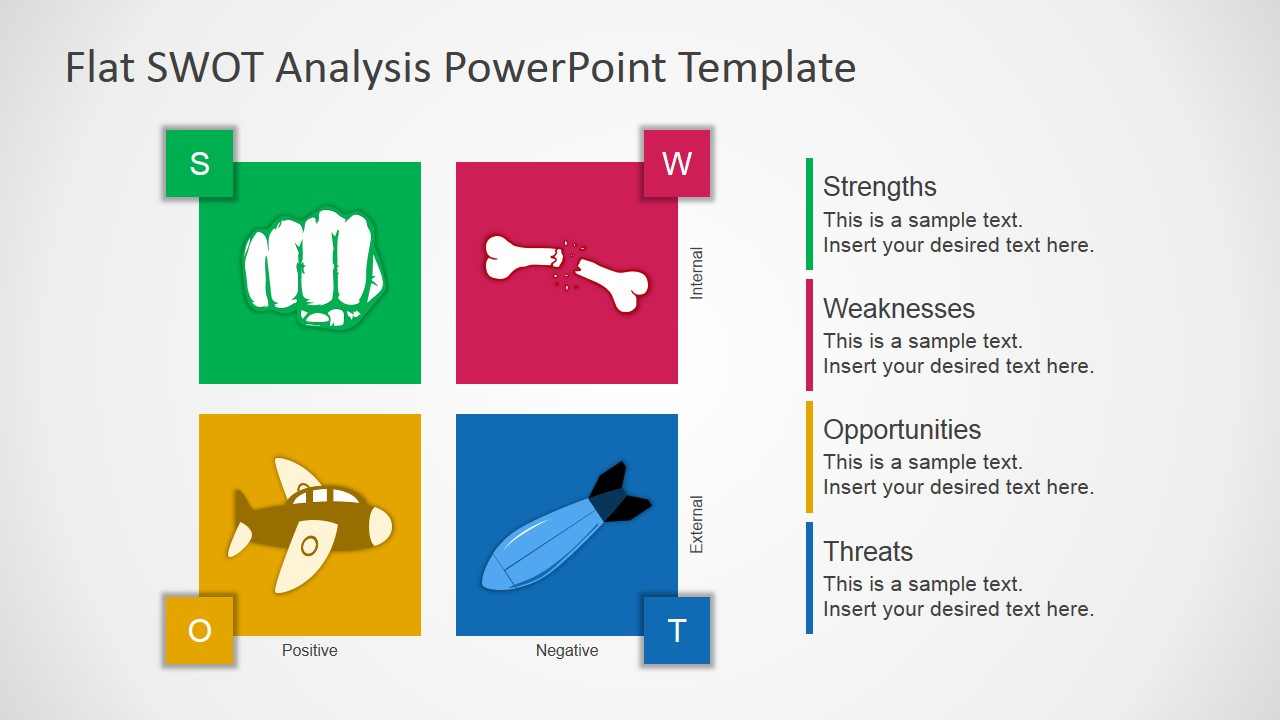 Powerpoint Template Swot Analysis; Powerpoint Presentation Free Swot  Analysis Template