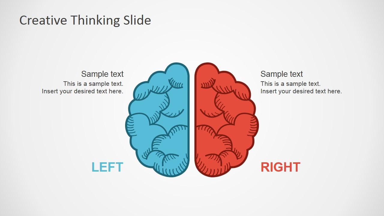 Free Creative Thinking Slides For Powerpoint Slidemodel