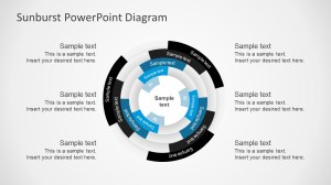 Free Sunburst PowerPoint Presentation Diagrams