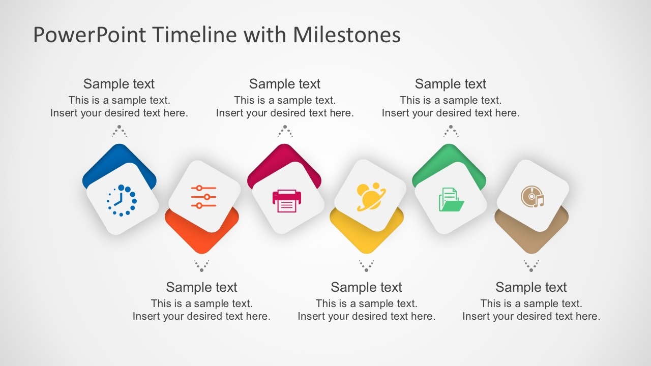 free milestone shapes and