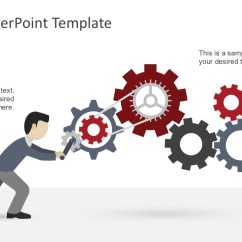Circular Diagram Flow Chart Template How To Draw A Venn Free Levers Powerpoint - Slidemodel