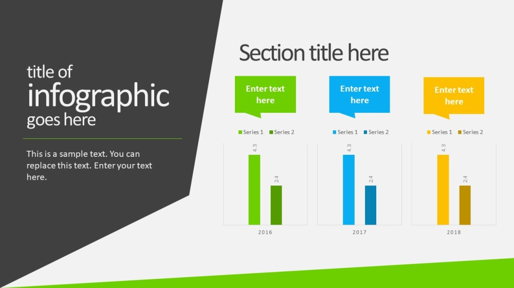 medium resolution of business powerpoint template infographics area chart
