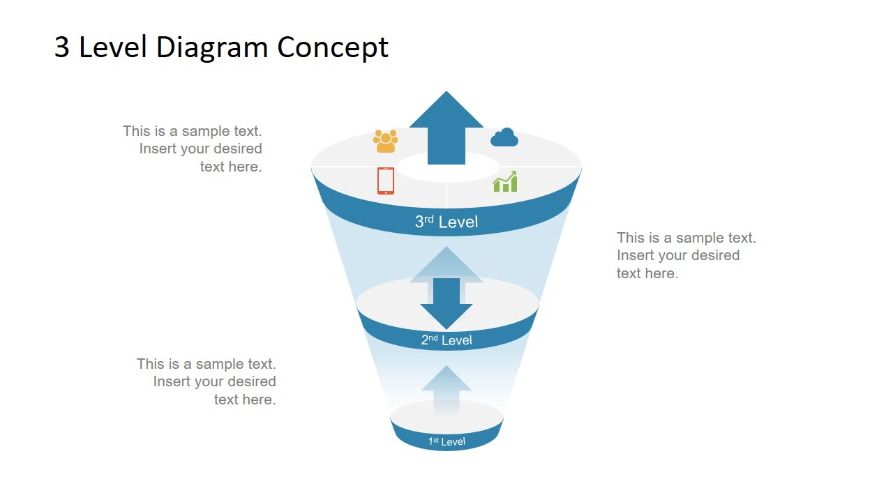 hight resolution of  ppt free funnel diagram template