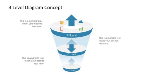 small resolution of  ppt free funnel diagram template