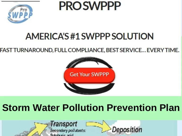 To achieve these results, kdot has developed a storm water pollution prevention plan (swppp) that will be used on all highway construction projects. Storm Water Pollution Prevention Plan