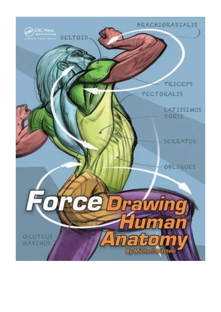 (2016) FORCE (PDF) Drawing Human Anatomy (Force Drawing ...