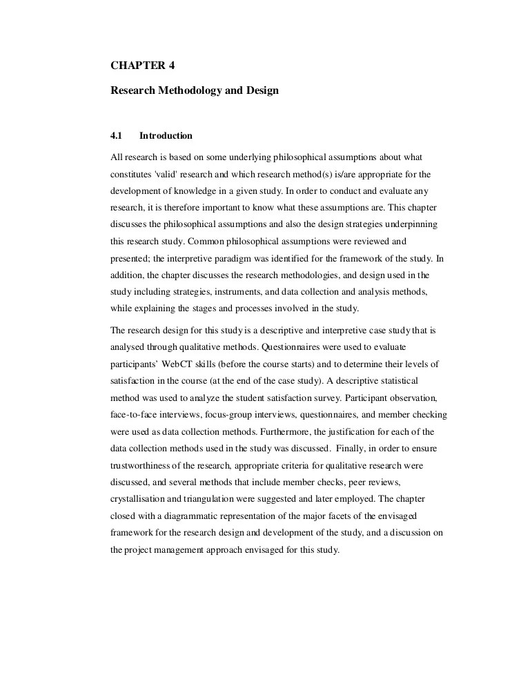 05 Chap 4 Research Methodology And Design 1