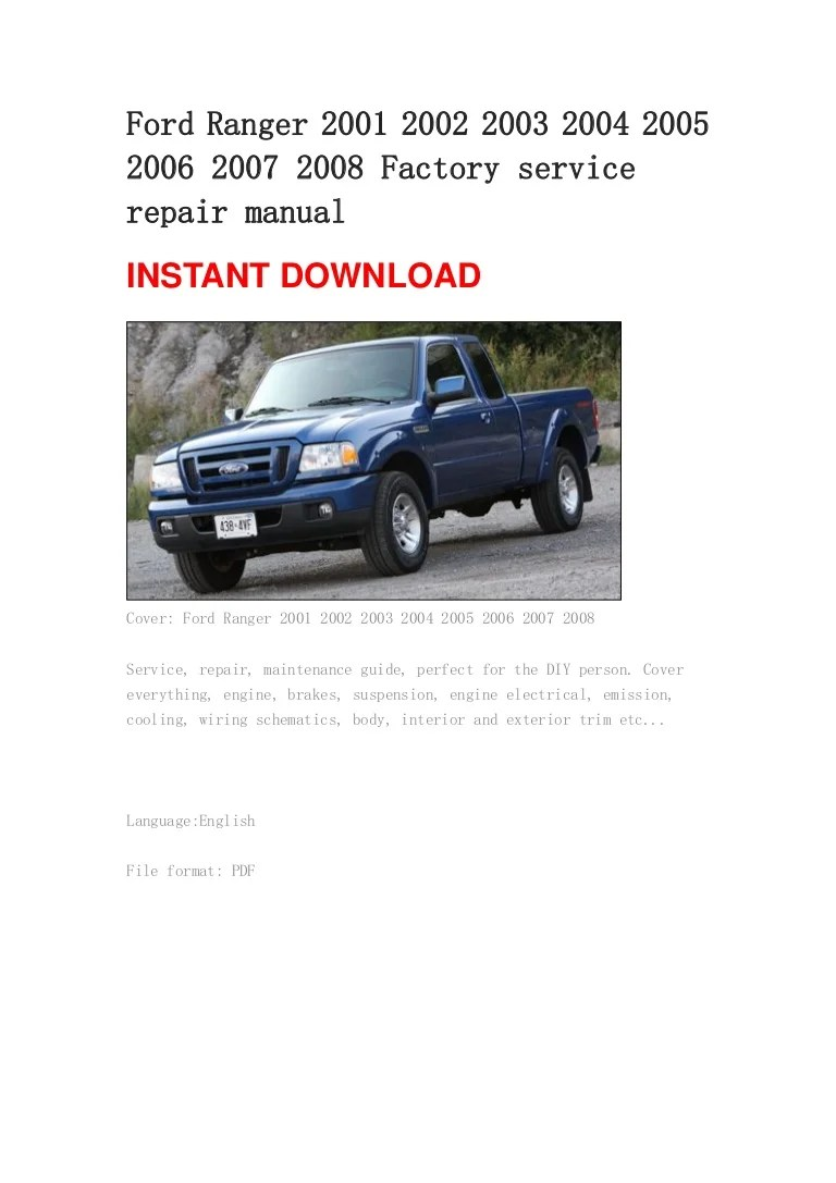 hight resolution of lamp wiring schematic 2002 ford ranger