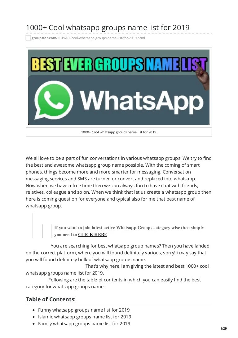 Funny Bachelor Team Names : funny, bachelor, names, Whatsapp, Groups