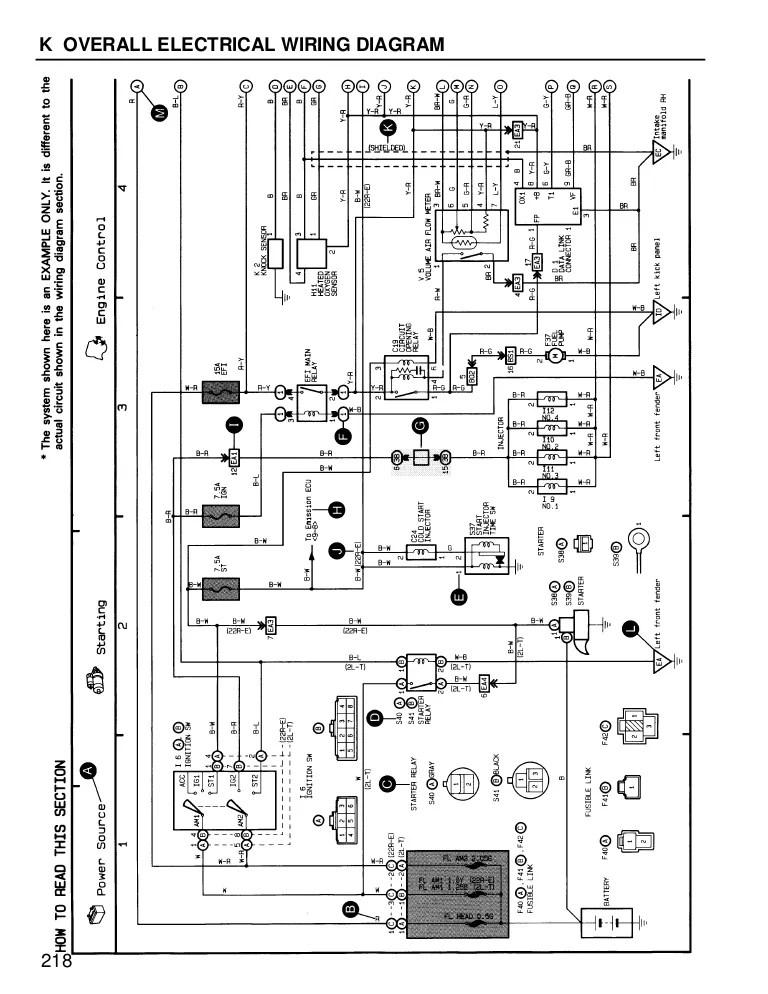 1991 toyota corolla wiring diagram
