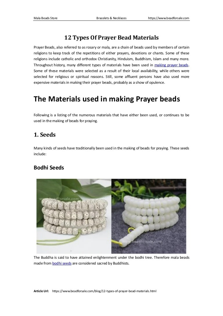 medium resolution of 12typesofprayerbeadmaterials 160607230932 thumbnail 4 jpg cb 1465341010