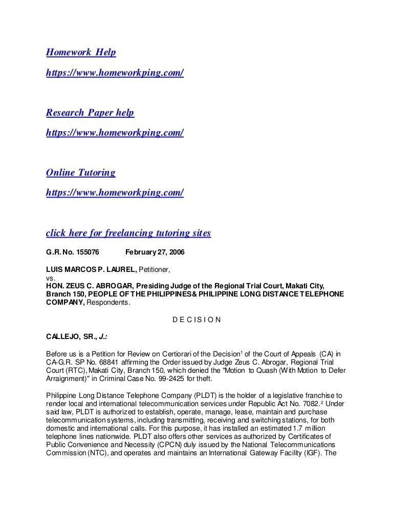 Authorization Letter For Disconnection Pldt Request - Resume