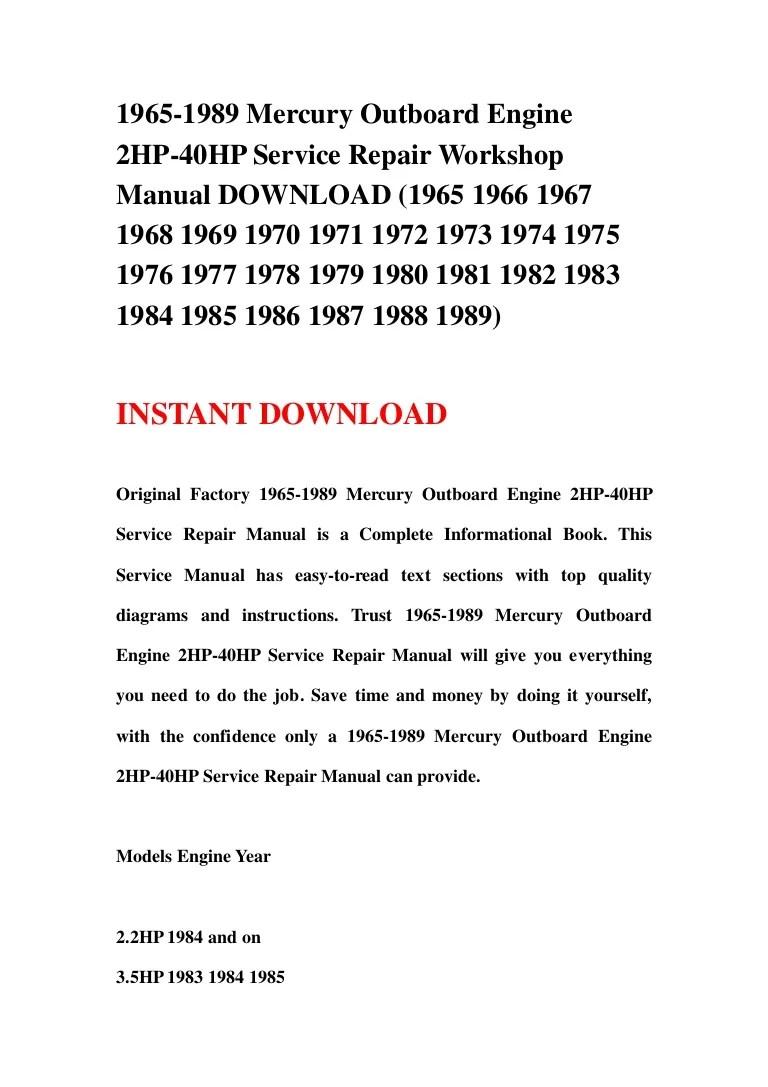 hight resolution of 1965 1989mercuryoutboardengine2hp 40hp 130108053221 phpapp02 thumbnail 4 cb 1357623181 1973 mercury 7 5 hp wiring diagram