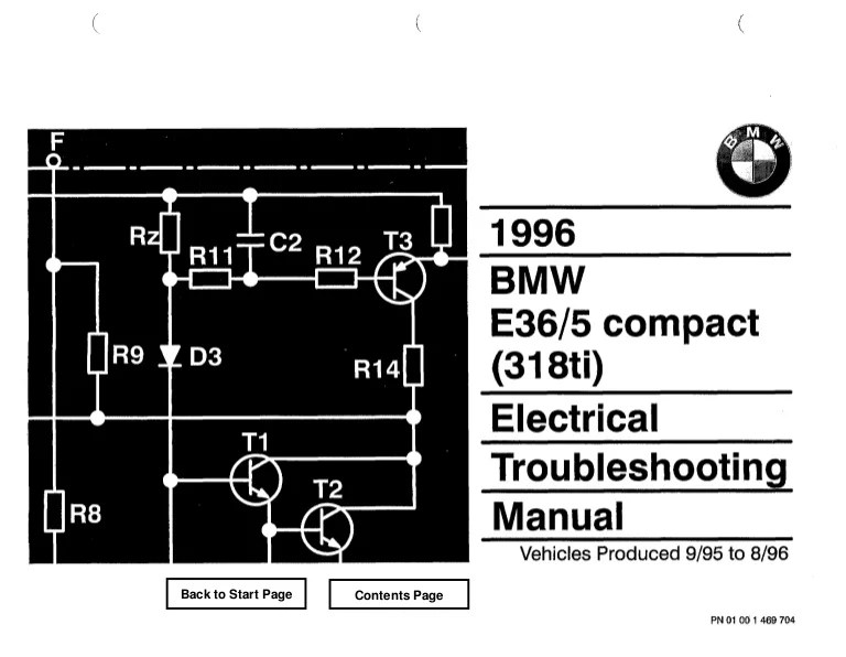 Bmw E36 318 Tds Wiring Diagram