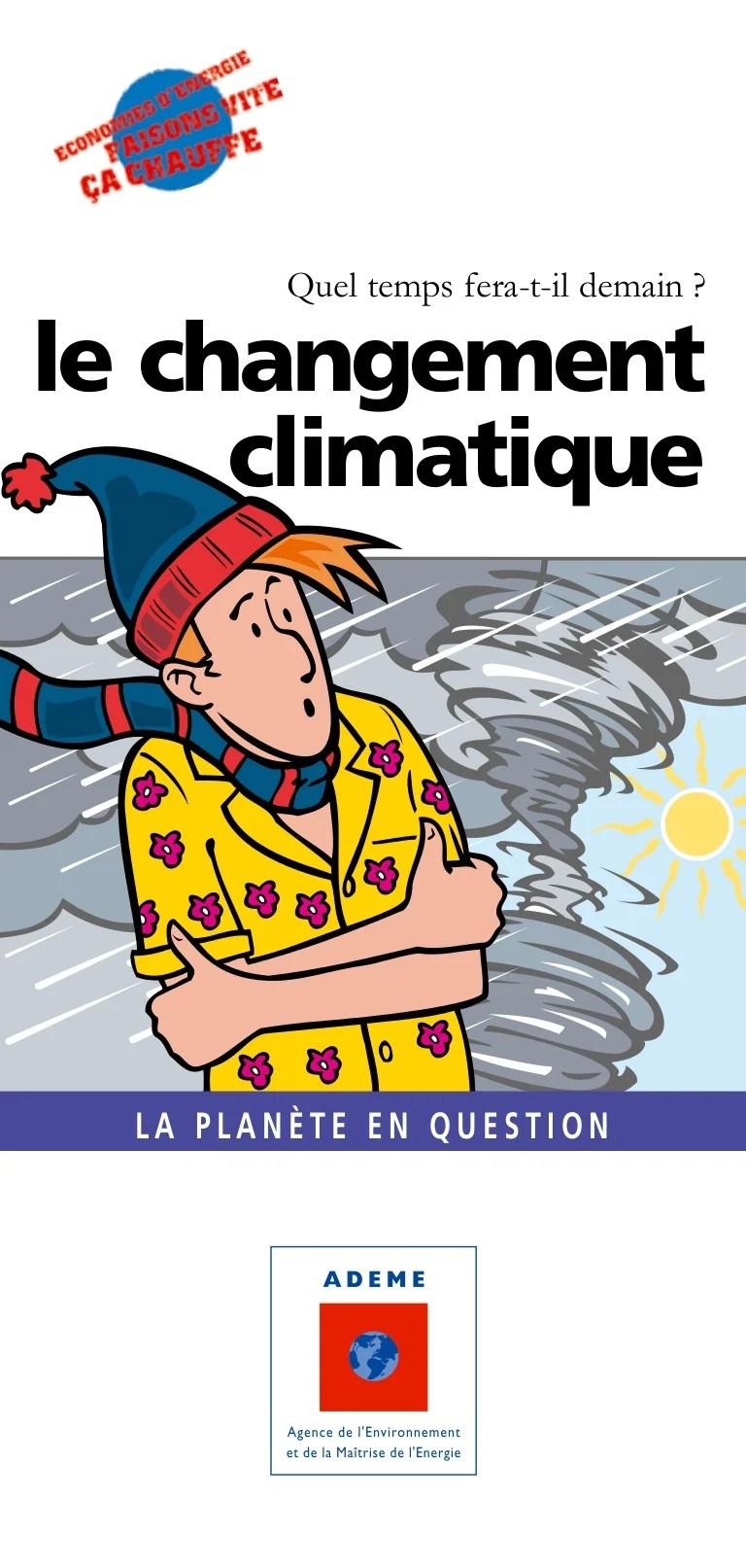 Temps Fera T Il Demain : temps, demain, Guide, Ademe, Grand, Public, Changement, Climatique