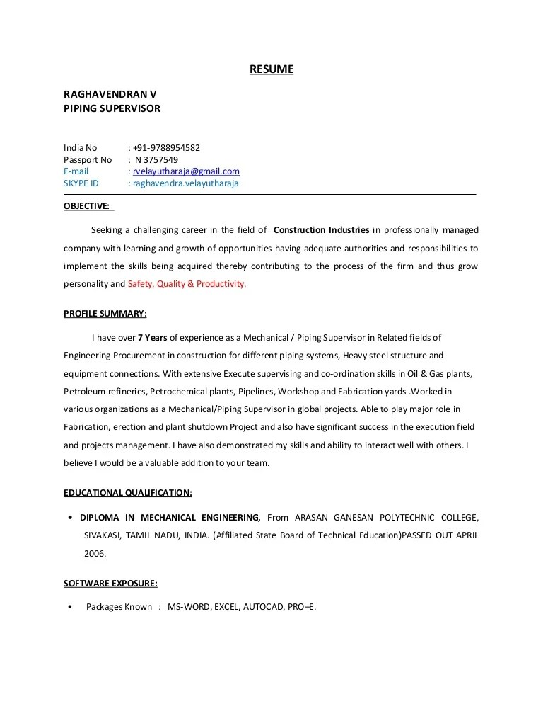 sample piping engineer cover letter - Topa.mastersathletics.co