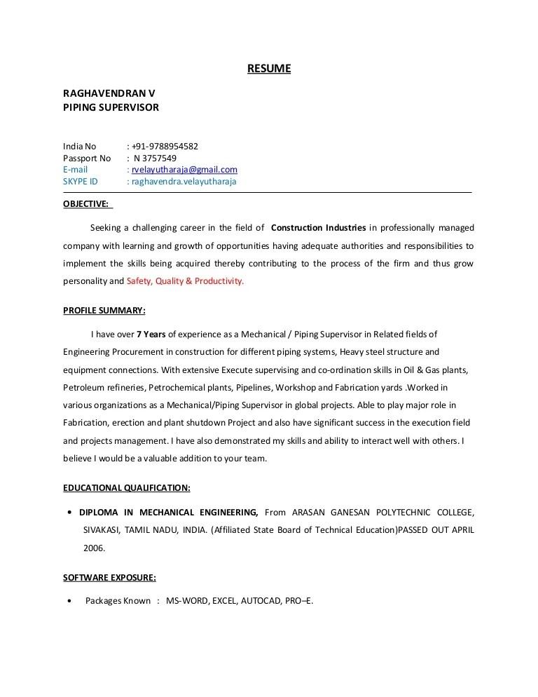 sample construction field engineer resume