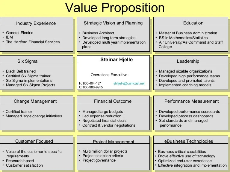 1 Value Proposition Examples Per Ed Jowdy