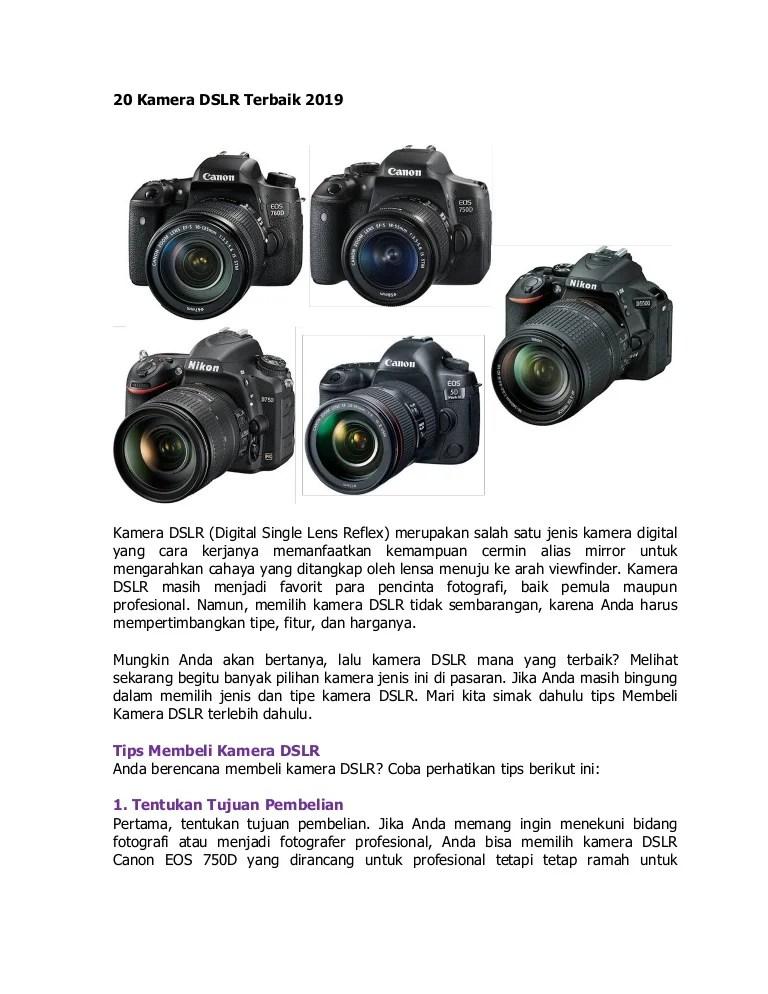 Kamera Nikon Terbaik : kamera, nikon, terbaik, Kamera, Terbaik