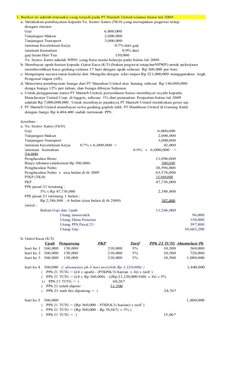 Contoh Soal Perhitungan Bea Masuk Dan Pajak Dalam Rangka Impor Berbagi Contoh Soal Cute766