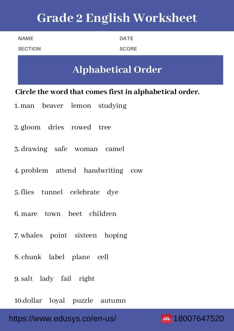 small resolution of 32 English Worksheet For Grade 2 - Worksheet Resource Plans