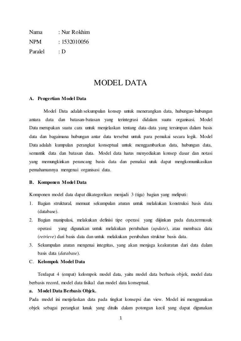Operasi Basis Data : operasi, basis, 312236643, Model-data-dalam-basis-data