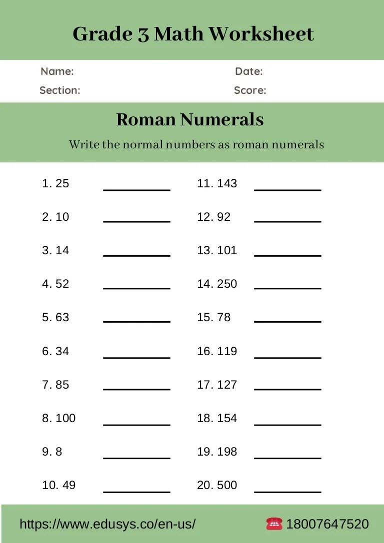 3rd grade math worksheet free pdf [ 1087 x 768 Pixel ]