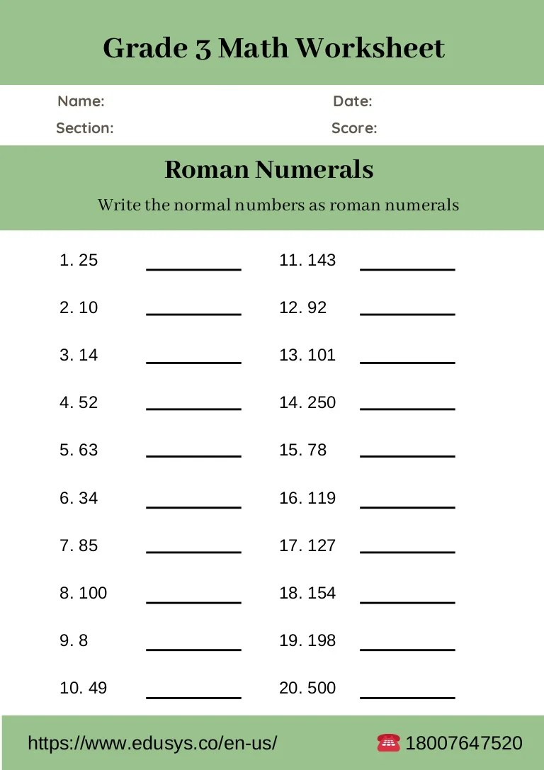 small resolution of 3rd grade math worksheet free pdf