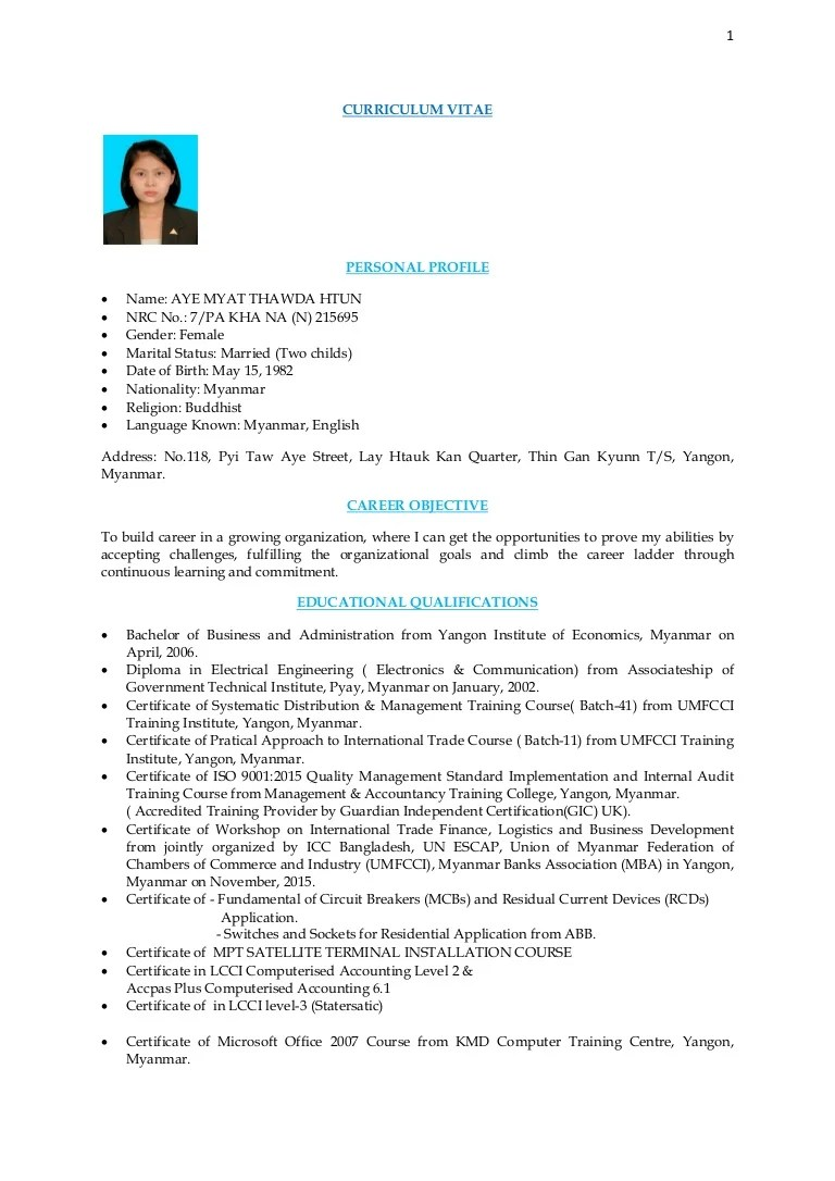 Microsoft Certified Trainer Cover Letter Cv And Cover Letter Of Amtdh