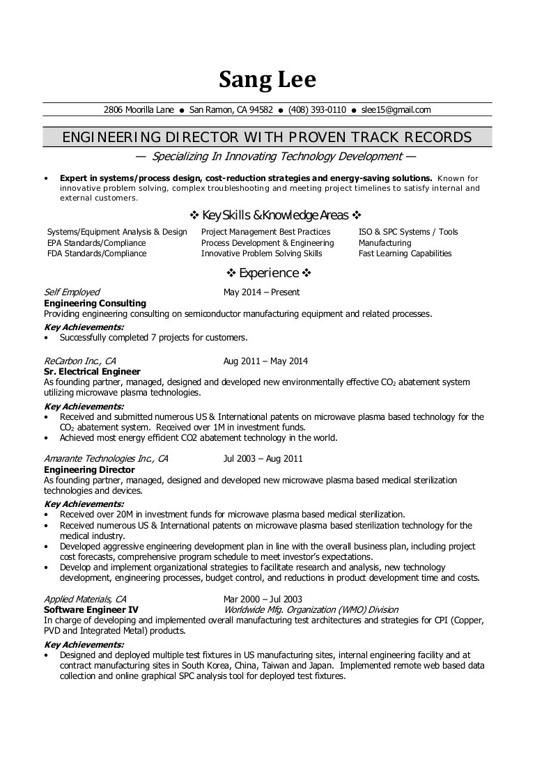 Sun Microsystems Engineer Resume Sample ] | Hostess Resume Examples ...