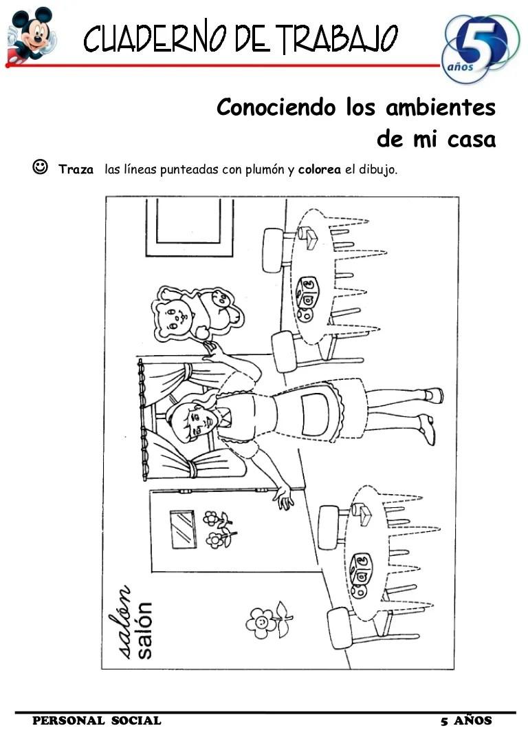 Cuaderno de Trabajo I  5 Aos Personal Social