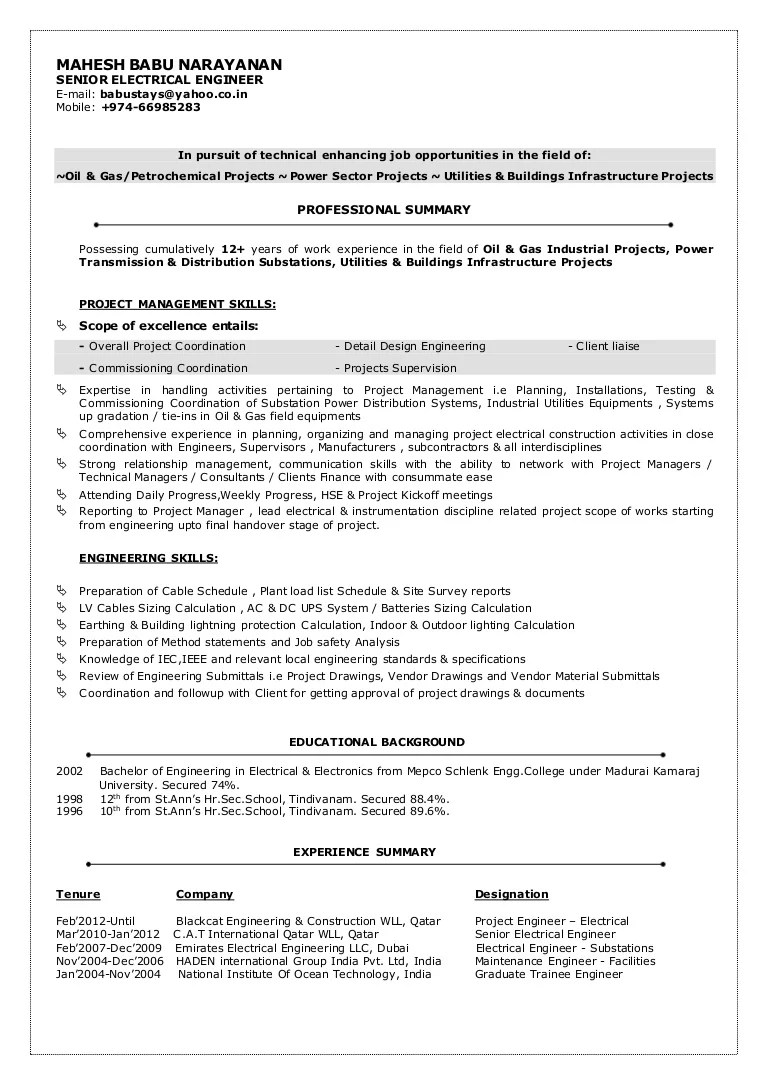 Resume Objective For A Mechanical Engineer Resume Resume Formt Resume Cover  Letter Computer Engineering Resume To