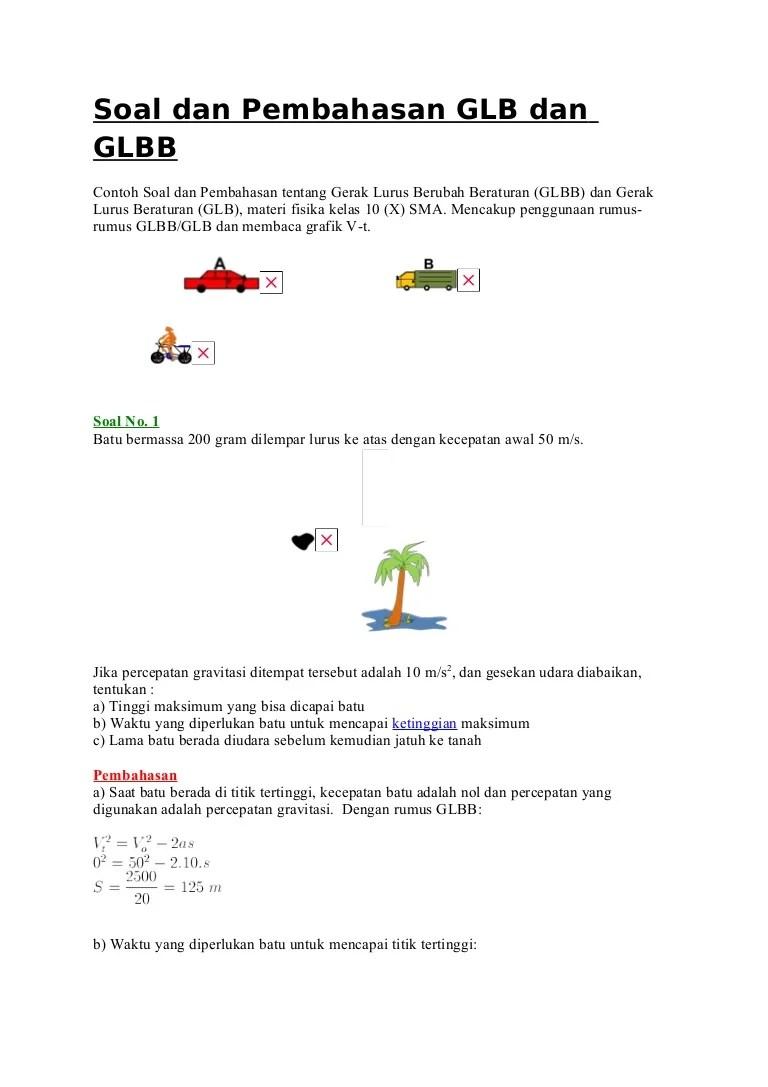 Materi Gerak Lurus Smp Kelas 8 : materi, gerak, lurus, kelas, 80993089, Soal-dan-pembahasan-glb-dan-glbb