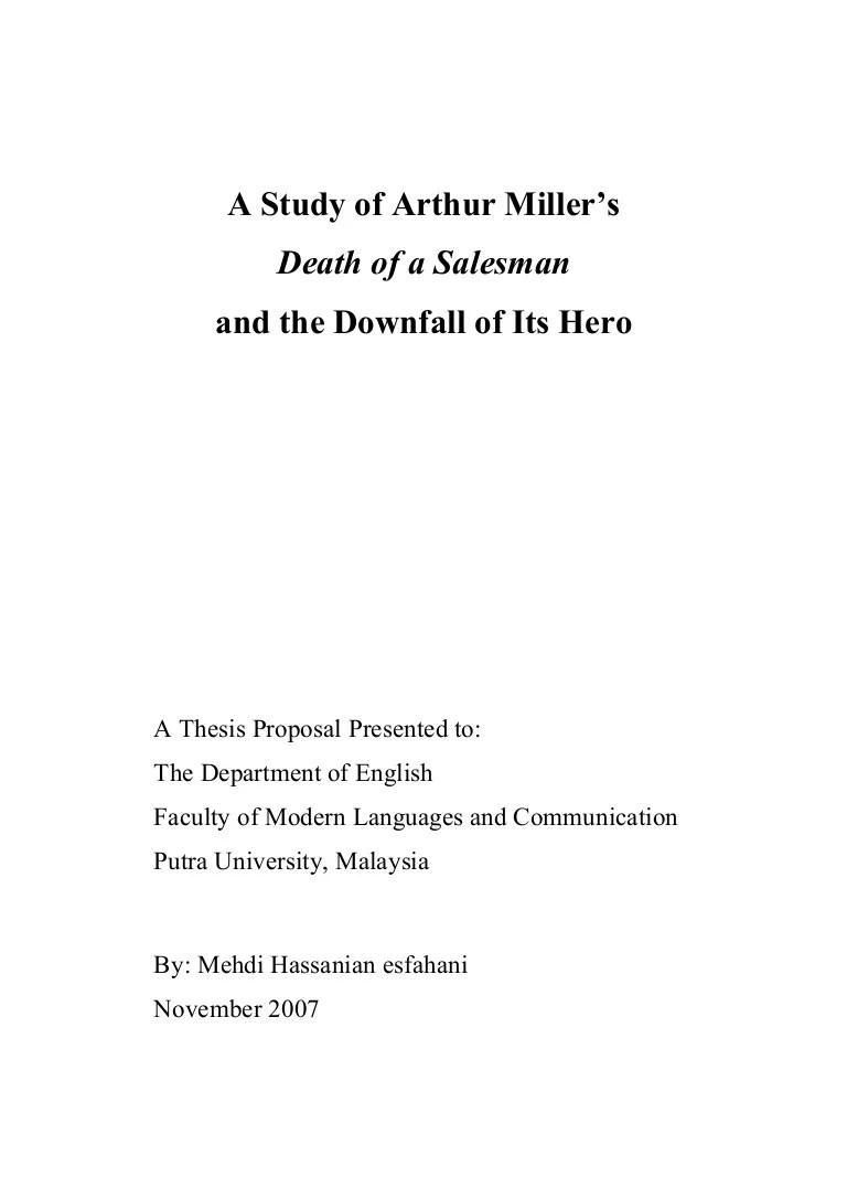 Death Of A Salesman Essay Topics Resume Format Microsoft Word Essays