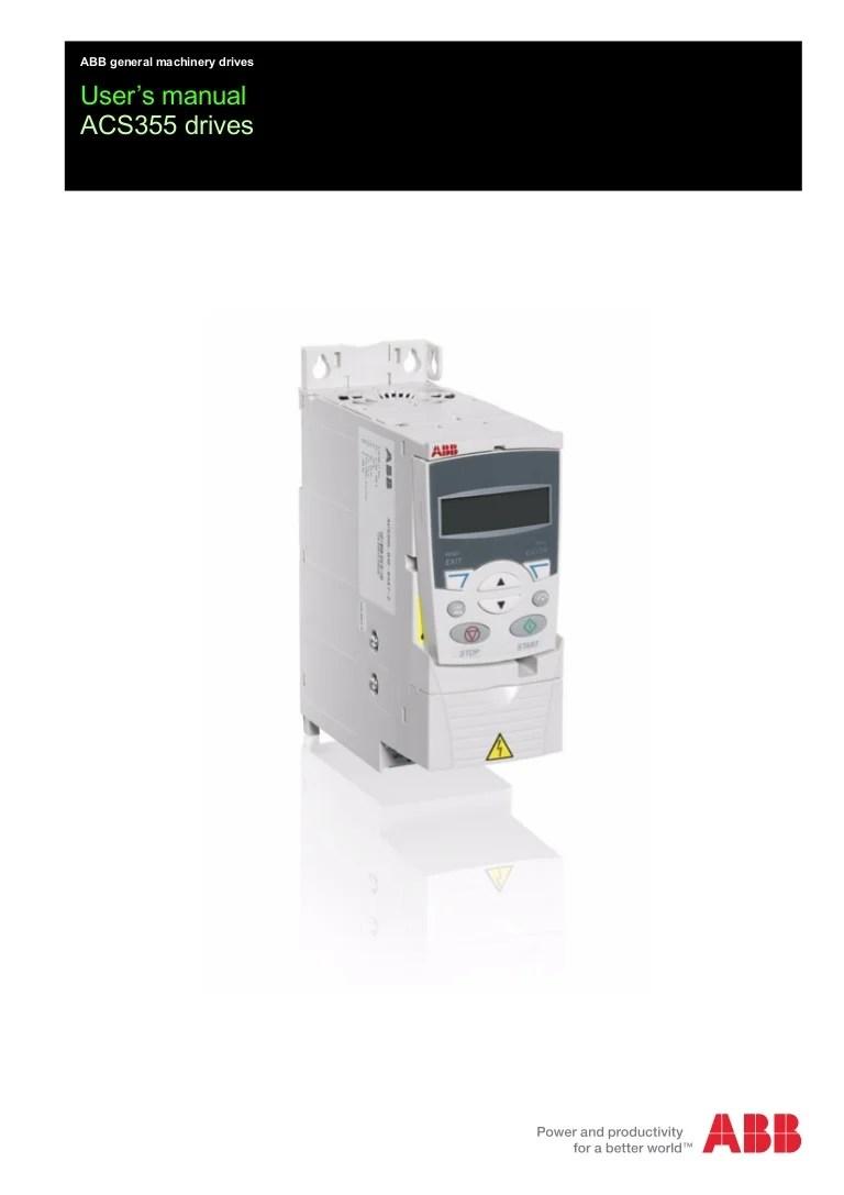 medium resolution of abb acs355 wiring diagram