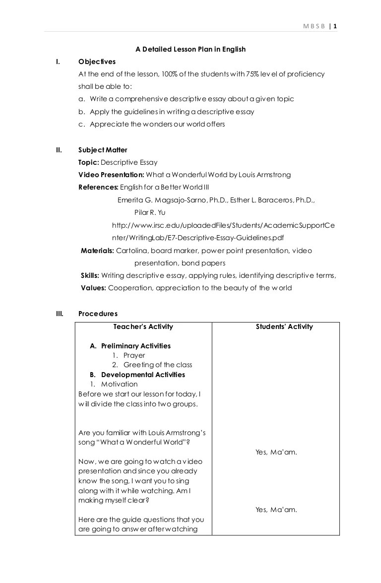 Creative Writing Lesson Plan : Creative Writing Lesson Plan [ 1175 x 768 Pixel ]
