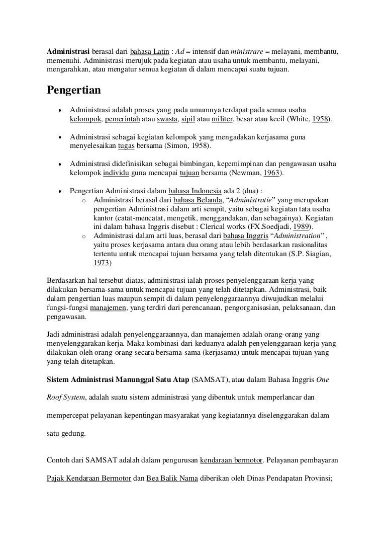 Administrasi Berasal Dari Bahasa : administrasi, berasal, bahasa, Administrasi, Berasal, Bahasa, Latin