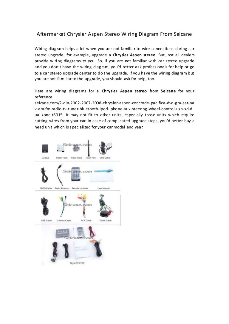 small resolution of aftermarket chrysler aspen stereo wiring diagram from seicaneaftermarketchrysleraspenstereowiringdiagramfromseicane 150422062850 conversion gate01 thumbnail