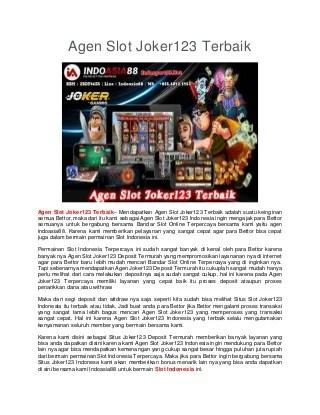 Keunggulan Bermain Taruhan Slot Online Playtech Atelier Cote Cour