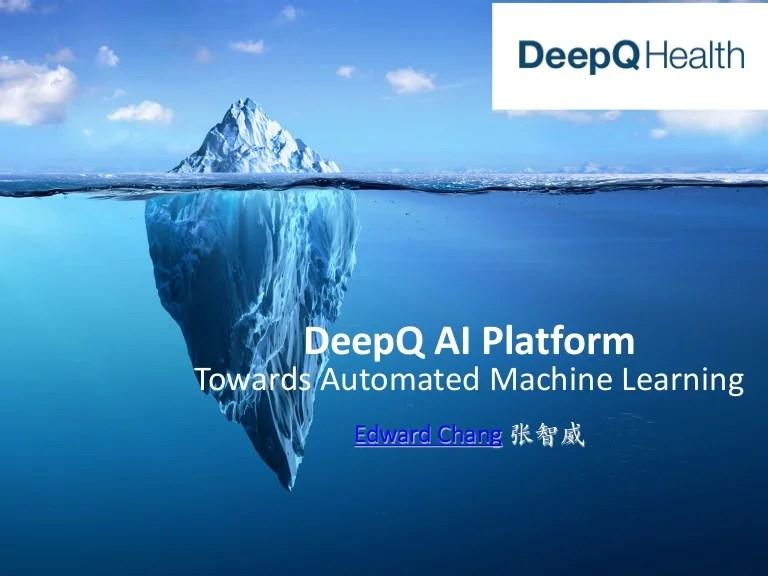 [臺灣人工智慧學校] 主題演講 - 張智威總經理 (President of HTC DeepQ)